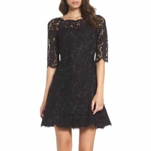 Eliza J Fit and flare lace dress new with tags